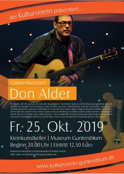 Don Adler Plakat