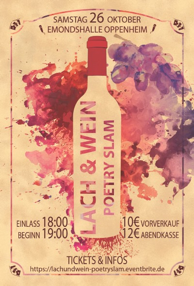 Lach Wein Poetry Slam
