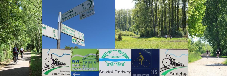 Radfahren in Rhein-Selz
