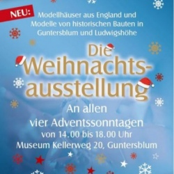 image de Weihnachtsausstellung im Museum Guntersblum